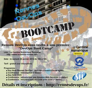 Flyer Bootcamp DevOps